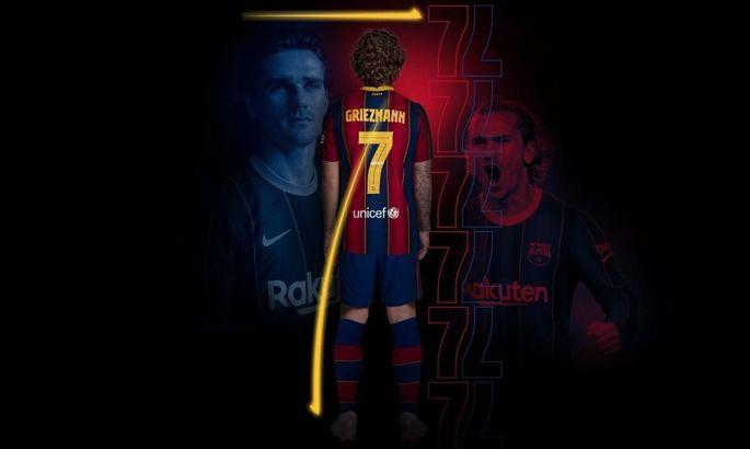 Официально: Антуан Гризманн - новая семерка Барселоны