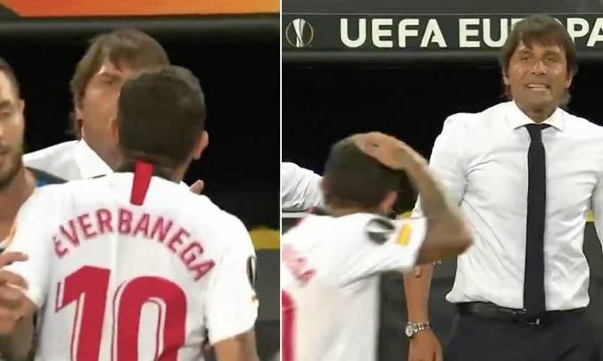 Банега извинился перед Конте за свое поведение в финале Лиги Европы
