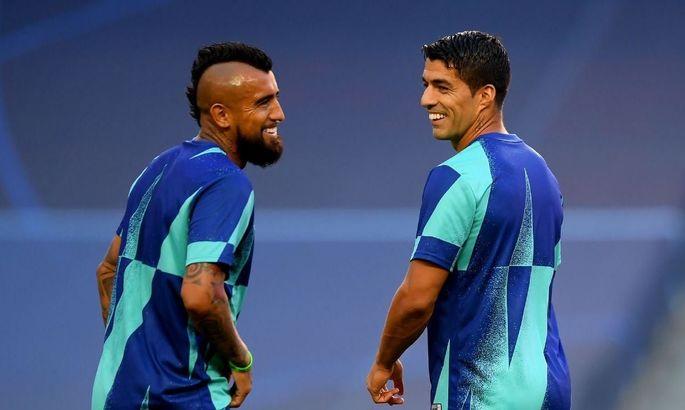Видаль и Суарес пропустят товарищеский матч Барселоны