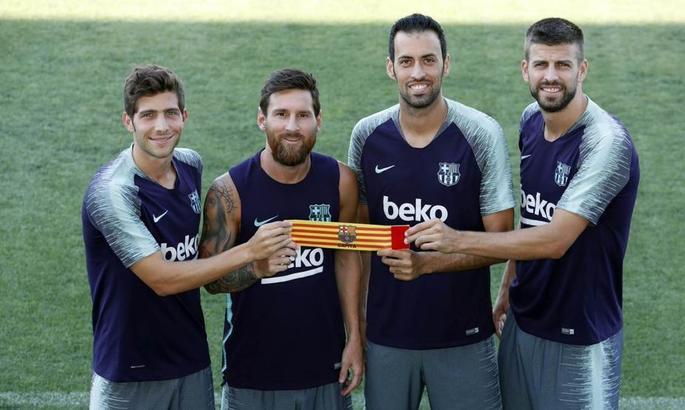 Месси сохранил капитанскую повязку в Барселоне