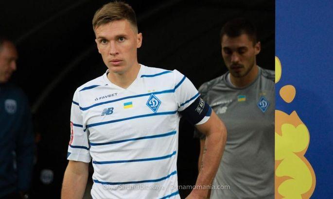 Сидорчук пропустит матч с Шахтером из-за перебора желтых