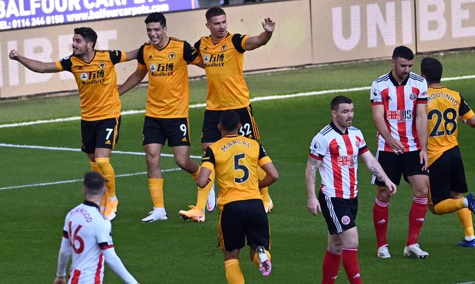 АПЛ. Шеффилд Юнайтед на своем поле уступает Вулверхэмптону