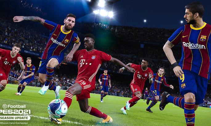 Разные версии Месси. Состоялся релиз Pro Evolution Soccer 2021