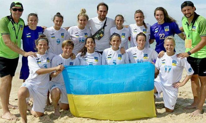 Жіноча команда з України здобула Кубок європейських чемпіонів з пляжного футболу