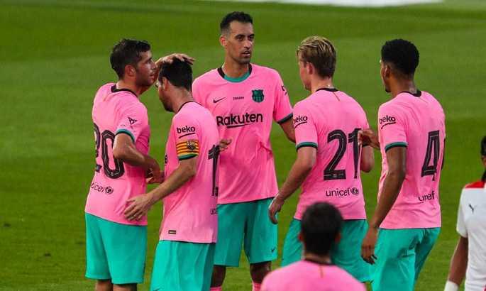 Дубль Мессі і нова схема. Барселона обіграла Жірону в контрольному матчі