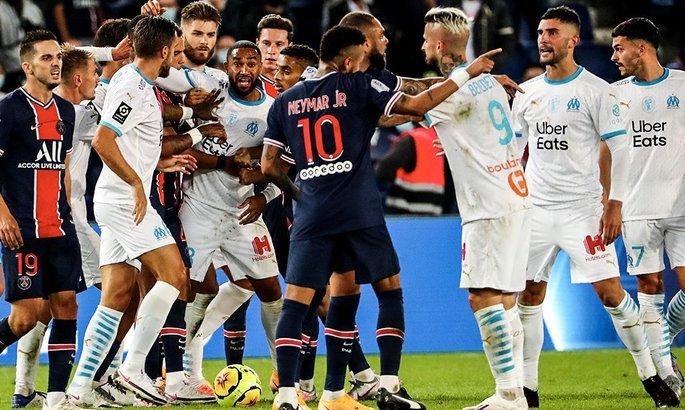 Неймар пропустить дві гри: Ліга 1 роздала покарання за матч ПСЖ - Марсель