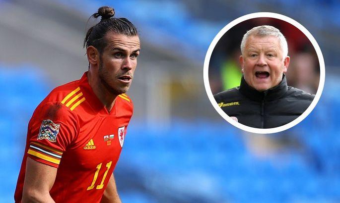 Тренер Шеффилд Юнайтед хочет, чтобы Бэйл остался в Мадриде и продолжал играть в гольф