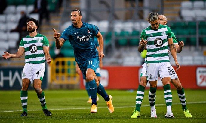 Лига Европы. Ибрагимович забивает в Ирландии, 12 голов в сербском триллере