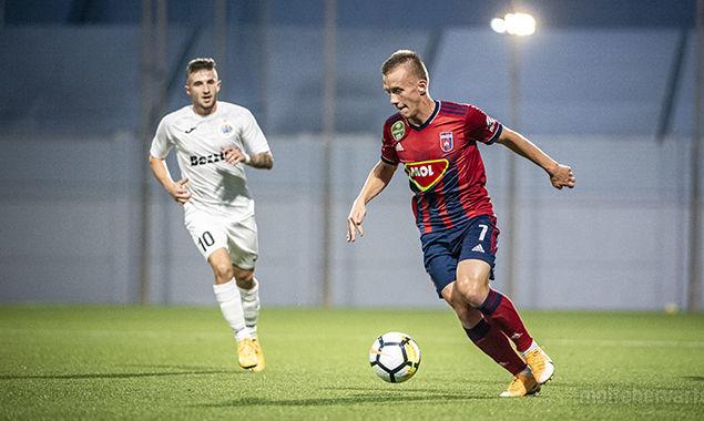 Петряк принял участие в голе МОЛ Фехервар в матче Лиги Европы