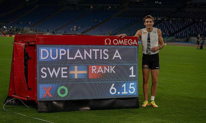 Мировой рекорд Дюплантиса, медальный урожай Украины и другие события этапа Бриллиантовой лиги в Риме