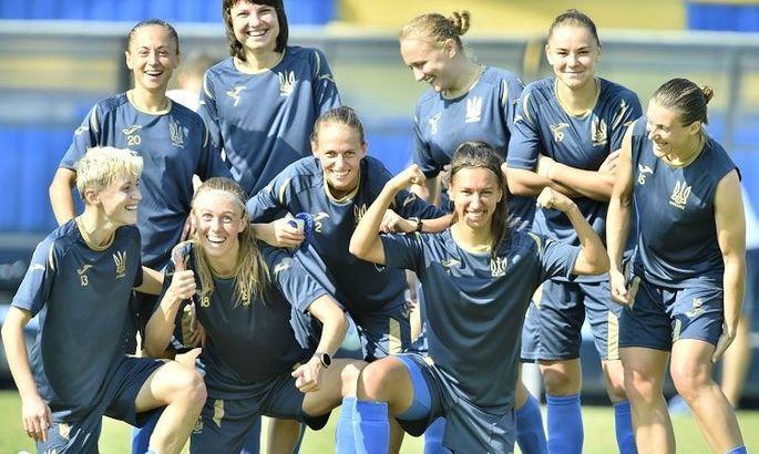 Женская сборная Украины оформила свою первую победу в отборе к Евро-2022