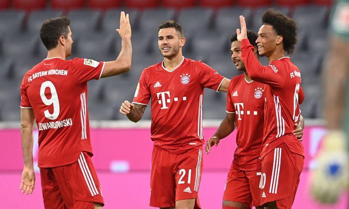 Бавария - Шальке 8:0. Обзор матча и видео голов