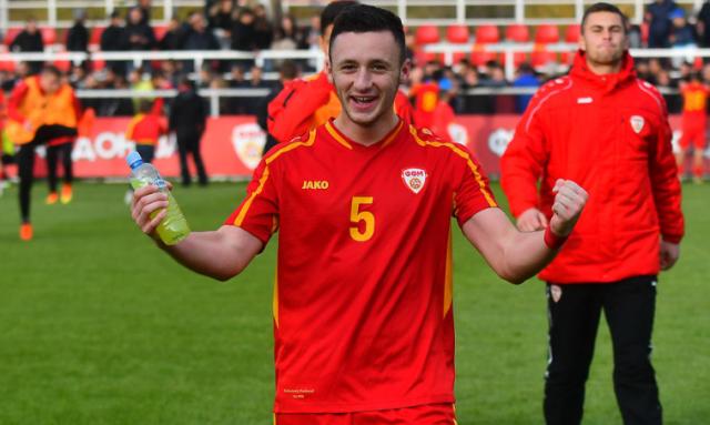 Заря подписала контракт с 21-летним защитником сборной Македонии