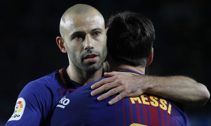Маскерано: Месси - главный человек  в истории Барселоны. Я рад, что он остался