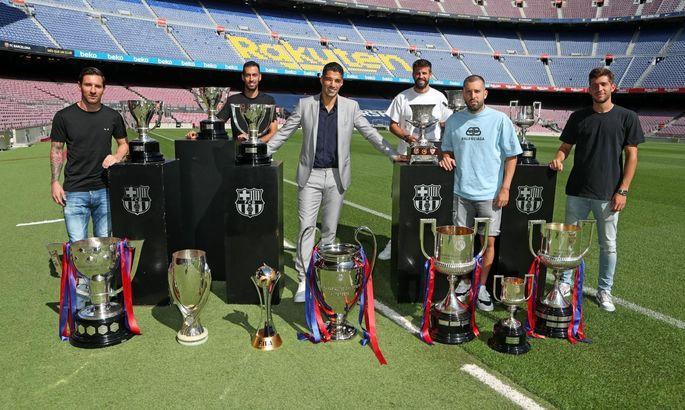 Последний день Суареса в Барселоне - уругваец попрощался с клубом и игроками