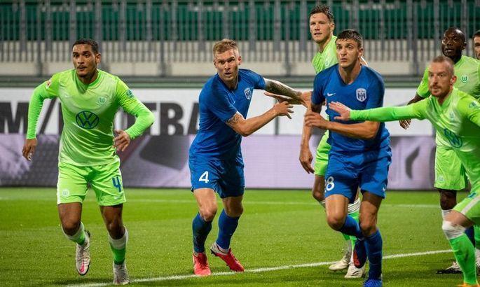 Вольфсбург - Десна 2:0. Видео голов и обзор матча