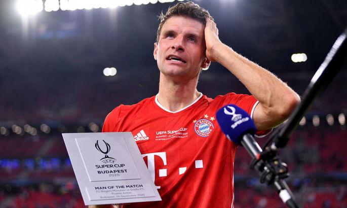 Мюллер – лучший игрок матча за Суперкубок УЕФА. Томас приблизился к достижению по трофеям