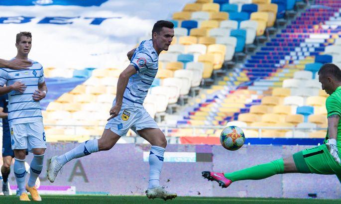 Гол в ворота Миная стал для Андриевского дебютным в составе Динамо