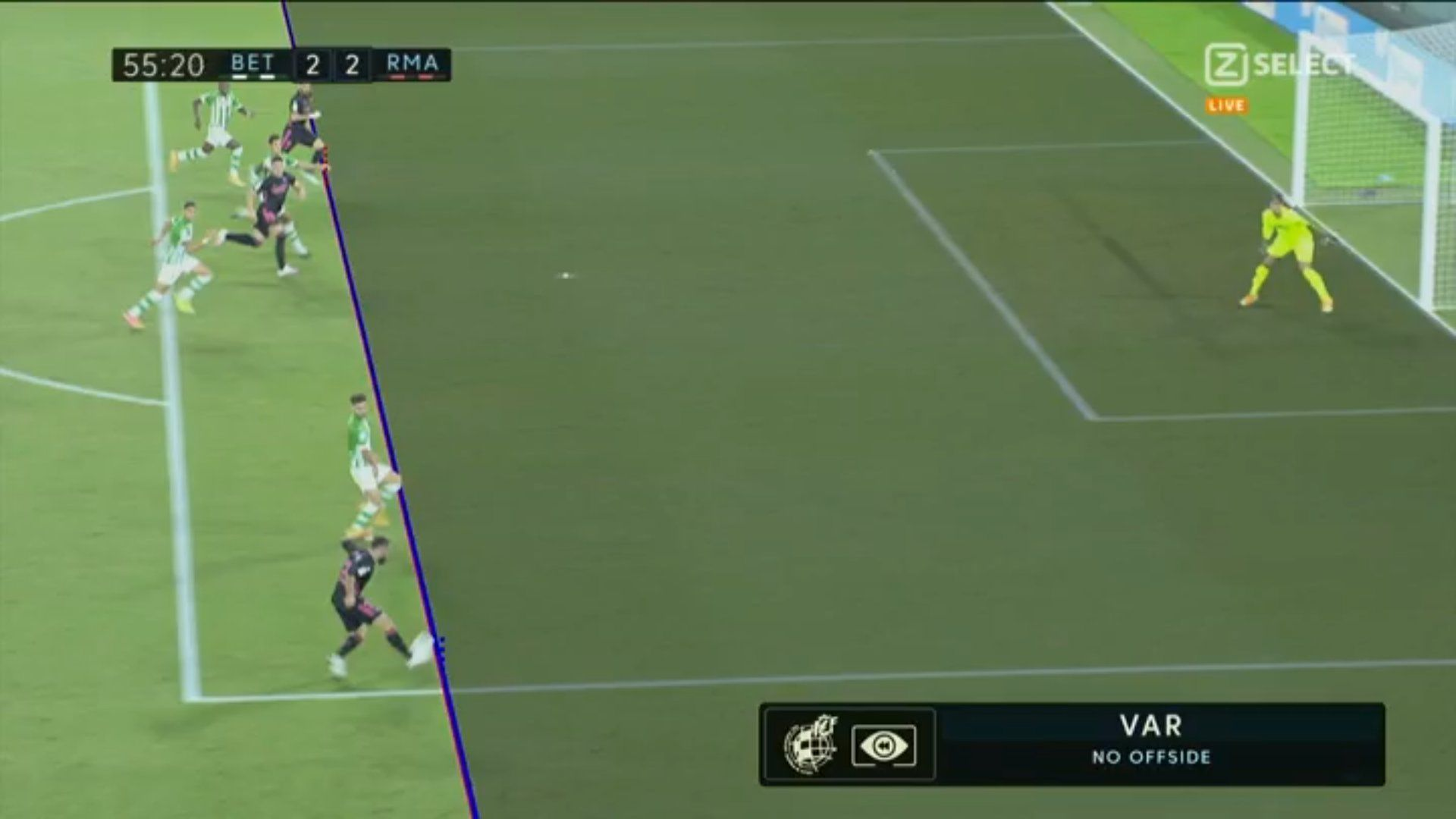 Примера. 3-й тур. Бетис - Реал 2:3. Автогол, удаление, пенальти и иные королевские прелести - изображение 3