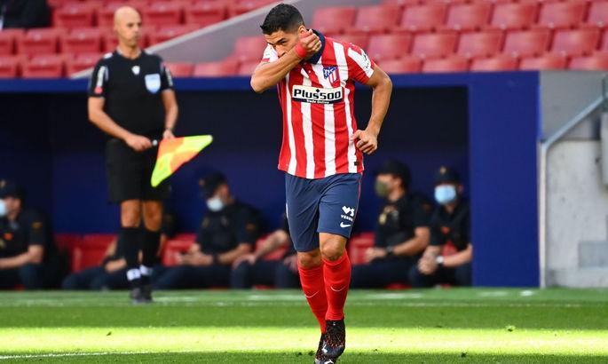 Луис Суарес вернулся к тренировкам