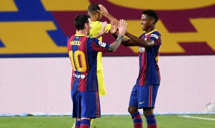 Прімера. 3-й тур. Барселона - Вільярреал 4:0. Бальзам на душу