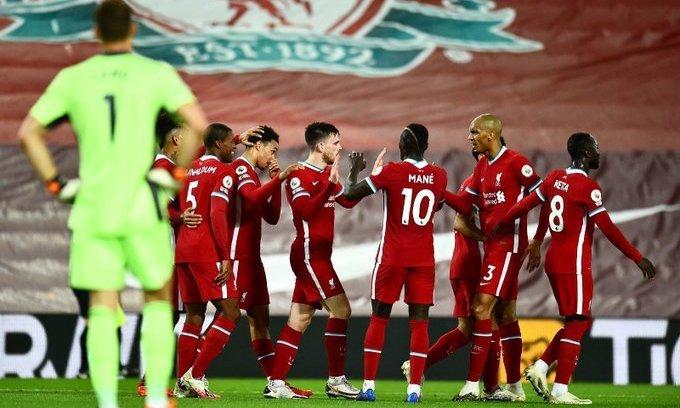 Ливерпуль - Арсенал 3:1. Видео голов и обзор матча