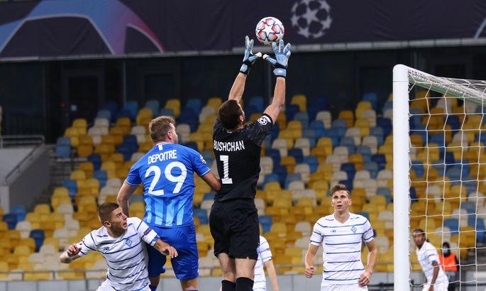 Найвищий бал: Бущан – найкращий гравець матчу Динамо – Гент за оцінками SofaScore та InStat