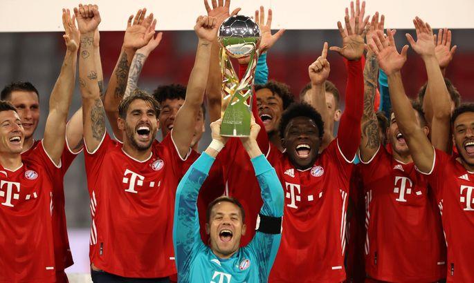 До повторения рекорда Барселоны – один трофей. Бавария – Боруссия 3:2. Обзор матча и видео голов