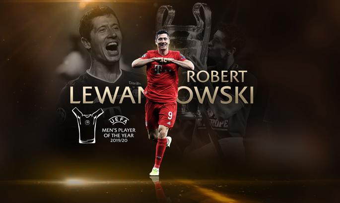 Роберт Левандовский - игрок года по версии УЕФА