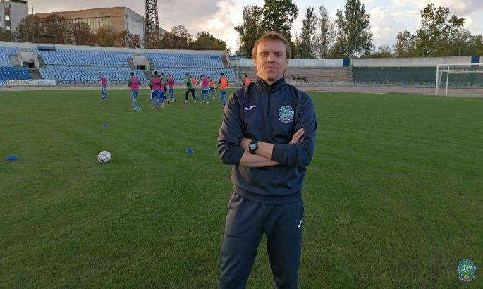 Сергій Валяєв - новий головний тренер херсонського Кристалу