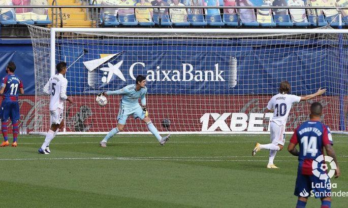 Прімера. 5-й тур. Леванте - Реал 0:2. Різні тайми, прогнозований підсумок