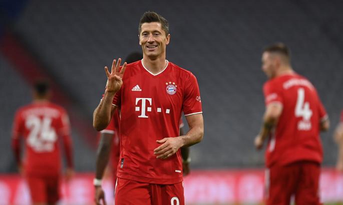 Бавария - Герта 4:3. Покер Левандовского и безумие последних минут