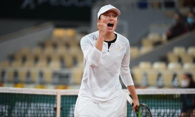 Швёнтек в сухую уничтожила Плишкову в финале турнира в Риме