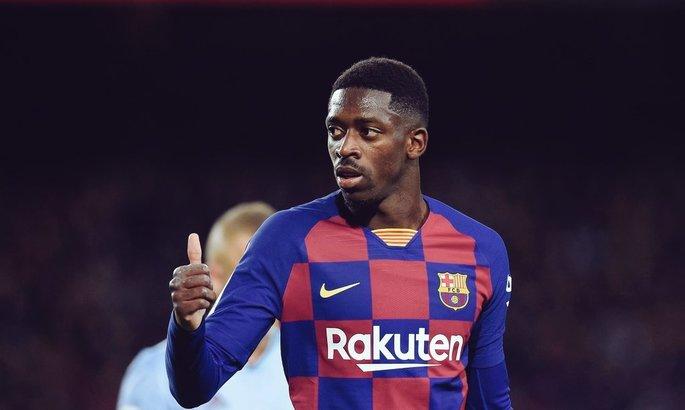 Француз остается. Барселона и МЮ не договорились об трансфере Дембеле