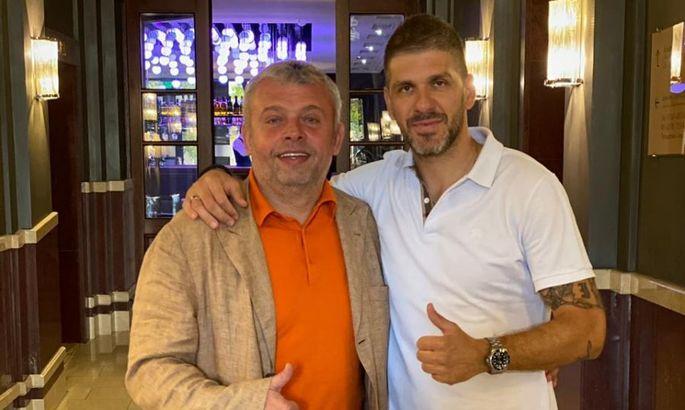 Сербский экс-защитник Карпат открыл футбольное агентство и приехал во Львов