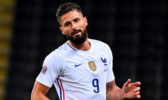 Дубль в воротах Болгарии приближает Жиру к званию лучшего бомбардира сборной Франции