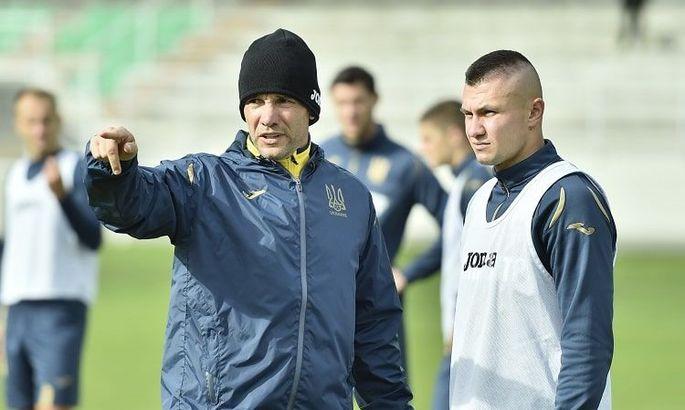 Бущан, Забарный, Конопля и Зубков дебютируют в сборной Украины