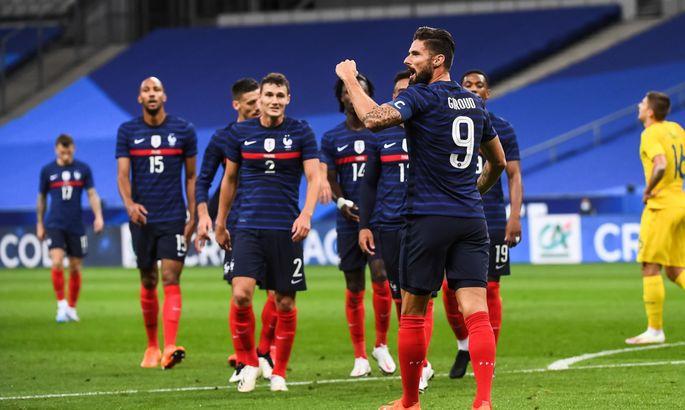 Дешам назвал состав сборной Франции на матч против Украины