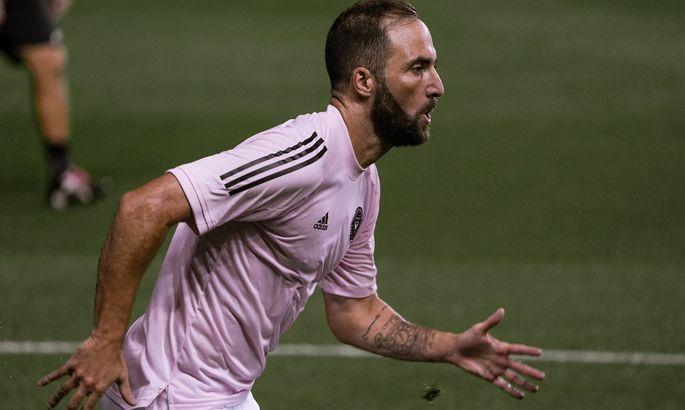Вышло красиво: Игуаин забил первый гол за Интер Майами – Гонсало не отличался со штрафных в Европе
