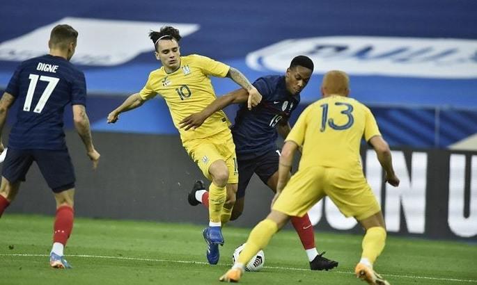 Шапаренко расплакался после дебютного гола за сборную Украины