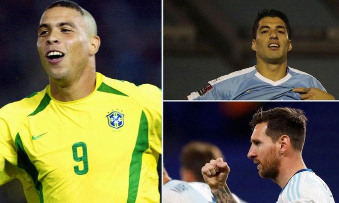 Великое трио: Месси и Суарес повторили латиноамериканский рекорд Роналдо