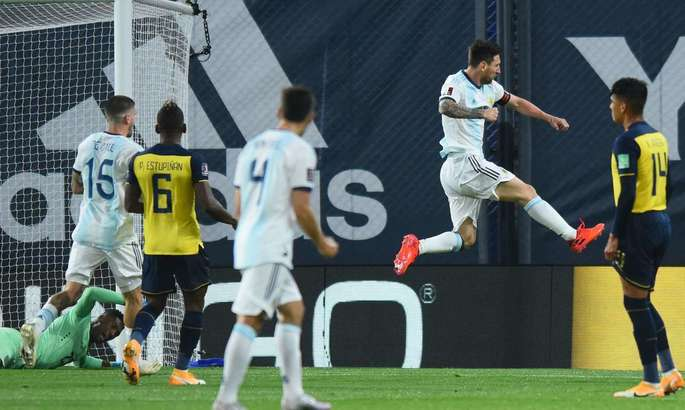 Аргентина с победы начала отбор к ЧМ. Единственный гол на счету Месси