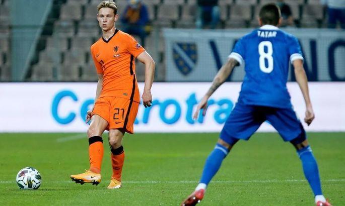 Як суперник України по ЄВРО втратив очки у Лізі націй. Огляд нічиї Боснії і Герцеговини з Нідерландами