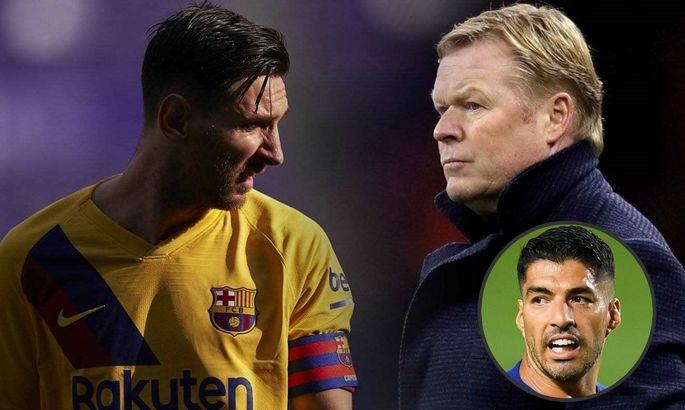 """""""Это выбор Барселоны"""". Куман рассказал, как объяснил Месси трансфер Суареса в Атлетико"""