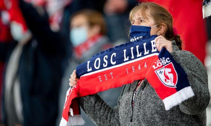 Фанаты Ланса прорвались на базу Лилля и вывесили там свой флаг