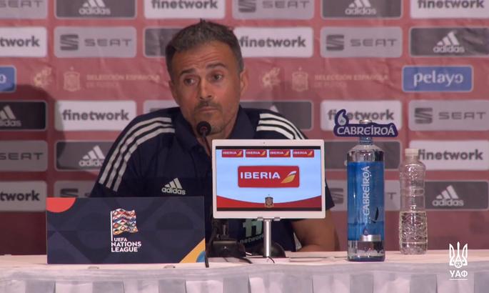 Луис Энрике: Испания - это Ferrari? Тогда Украина - тоже!