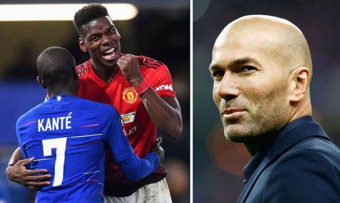 История о трех французах: Зидан хочет видеть Погба в Реале, Канте мечтает о переезде в Мадрид