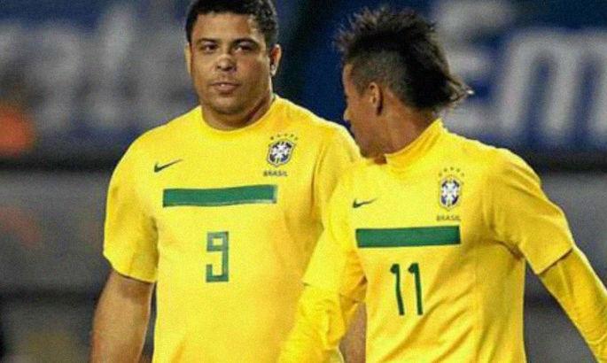 """""""При всем уважении к тебе, феномен"""". Неймар обошел Роналдо и стал вторым среди голеадоров Бразилии"""