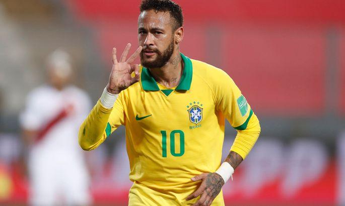 Шоу Неймара. Видео, как Бразилия разгромила Перу, а капитан превзошел Роналдо