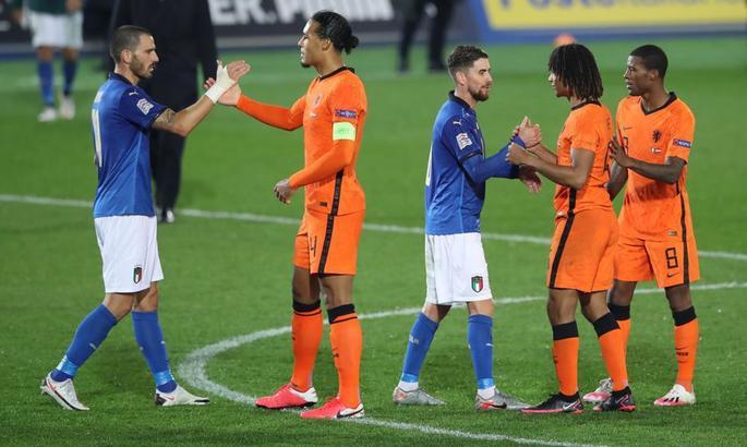 Пошуки Де Бура. Італія - Нідерланди 1:1. Відео голів та огляд матчу